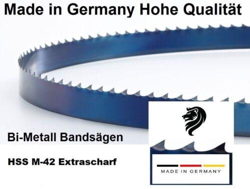 EPPLE BS 125 GS Sägeband HSS M42 1440 x 13 x 0,65 mm 10//14 ZpZ Bandsägeblatt