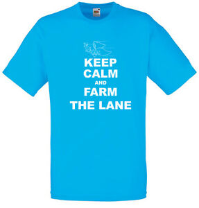 Keep-Calm-and-Farm-the-Lane-League-of-Legends-Inspired-Men-039-s-Printed-T-Shirt