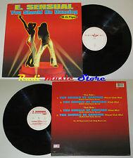 LP E SENSUAL You should be dancing 33 45 rpm 12'' 1995 holland cd mc dvd vhs