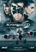 Krrish 3 (2013) - Hrithik Roshan, Priyanka Chopra, Kangana Bollywood Hindi Dvd