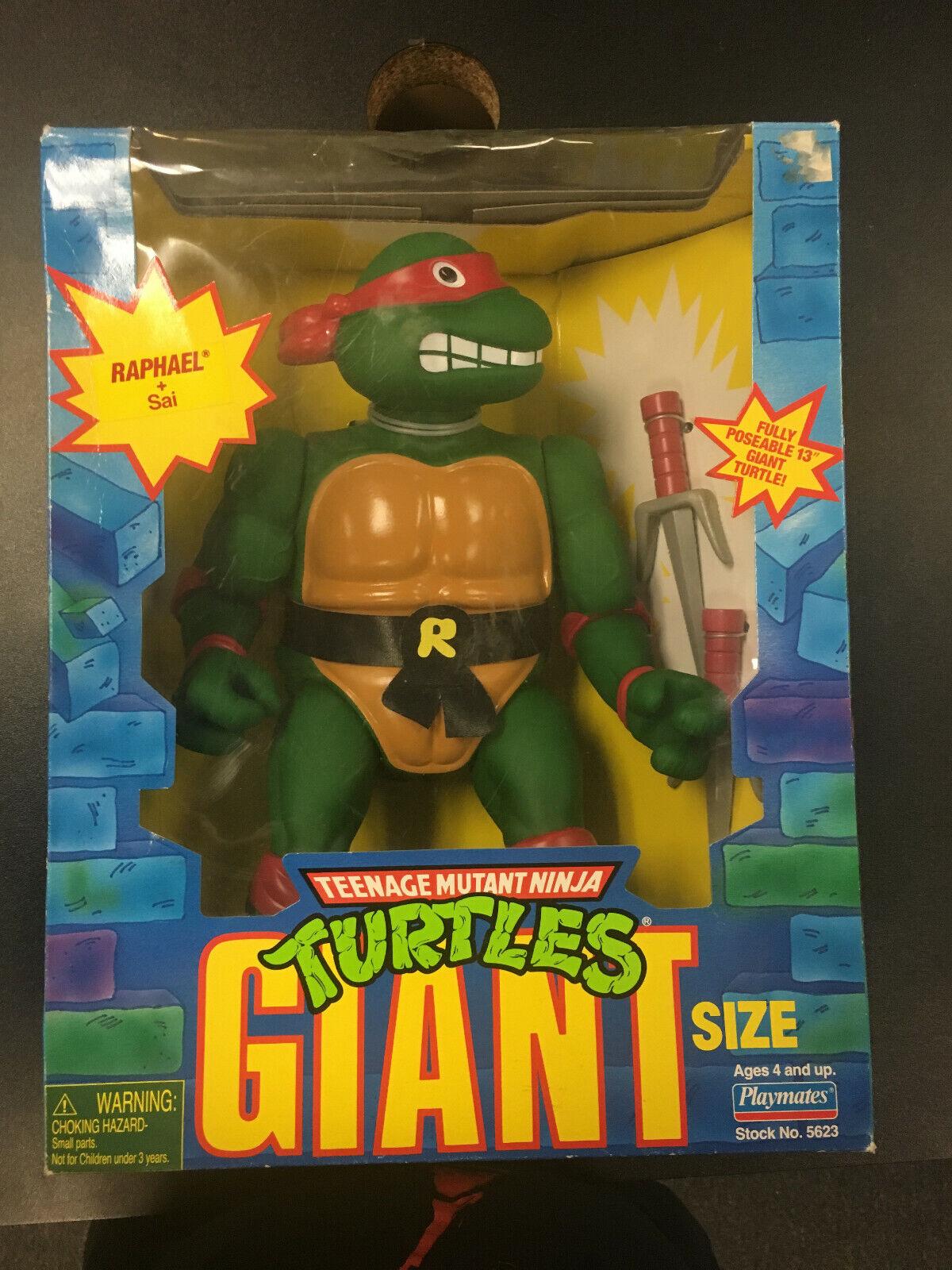 Playmates Teenage Mutant Mutant Mutant Ninja Turtles Giant Dimensione Raphael cifra 1998 07066d