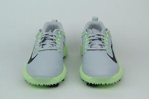 Nike-Lunar-Command-2-Golf-Shoes-Wolf-Grey-Volt-Green-Women-880120-002-Size-8