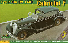 ACE 72559 Typ 770k (w-150) Cabriolet F Scale Plastic Model Kit 1/72