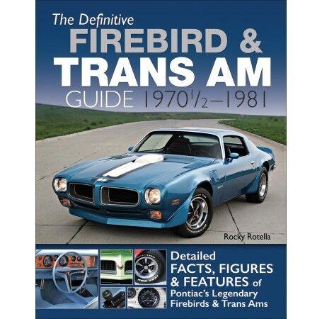Interior//Vinyl Top//Exterior Colors 1970-1981 Firebird//Trans Am Cam Specs CT591