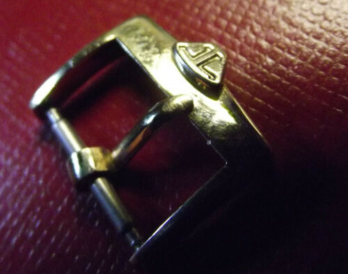 JAEGER Le COULTRE RARE VINTAGE SWISS MADE GOLD COLOR BUCKLE 14 mm