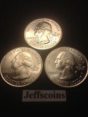 2015 P D S Saratoga National Historical Park New York QUARTER SET PDS Mint NF9