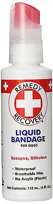 CARD REMEDY RECOVERY HEALTH PET LIQUID BANDAGE SPRAY 4 OZ DOG CAT FERRET RABBIT