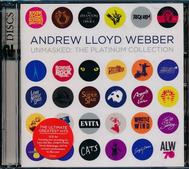 Andrew Lloyd Webber Unmasked The Platinum Collection 2-disc CD NEW