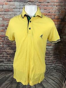 ABSOLUTE-REBELLION-MEN-039-S-COTTON-MESH-POLO-SHIRT-SIZE-SMALL-A31-15