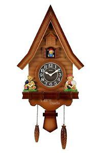 Handmade Clock Cuckoo Wall Home Bird Hanging Room Living decor best for home use