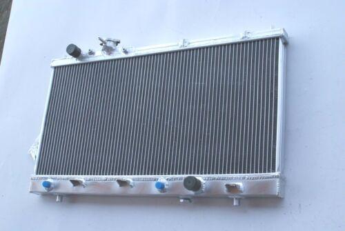 2Row Aluminum Radiator For 1999-2003 Mazda Protege 1.6 1.8 Protege5 2.0 L4