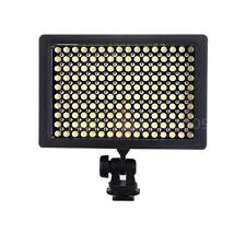 160 LED Video Light Lamp Panel Dimmable for Canon Nikon DSLR Camera Camcorder