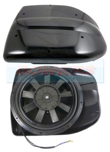 12V LOW PROFILE POWERED MOTORISED ROOF FAN AIR VENT EXTRACTOR MOTORHOME DOG VAN