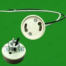2x gu24 zócalo de cerámica, sostenedor de la lámpara, abajo de luz de base, 660w & 600v Max