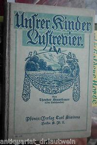 Theodor Krausbauer: Unsrer Kinder Lustrevier Kinderbuch 1911, Jugendstil - Nürnberg, Deutschland - Theodor Krausbauer: Unsrer Kinder Lustrevier Kinderbuch 1911, Jugendstil - Nürnberg, Deutschland