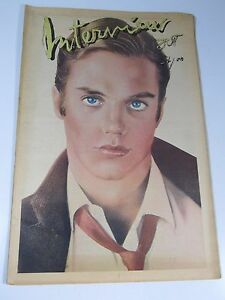 interview magazine shaun cassidy front cover vol viii no 10 1978 by andy warhol
