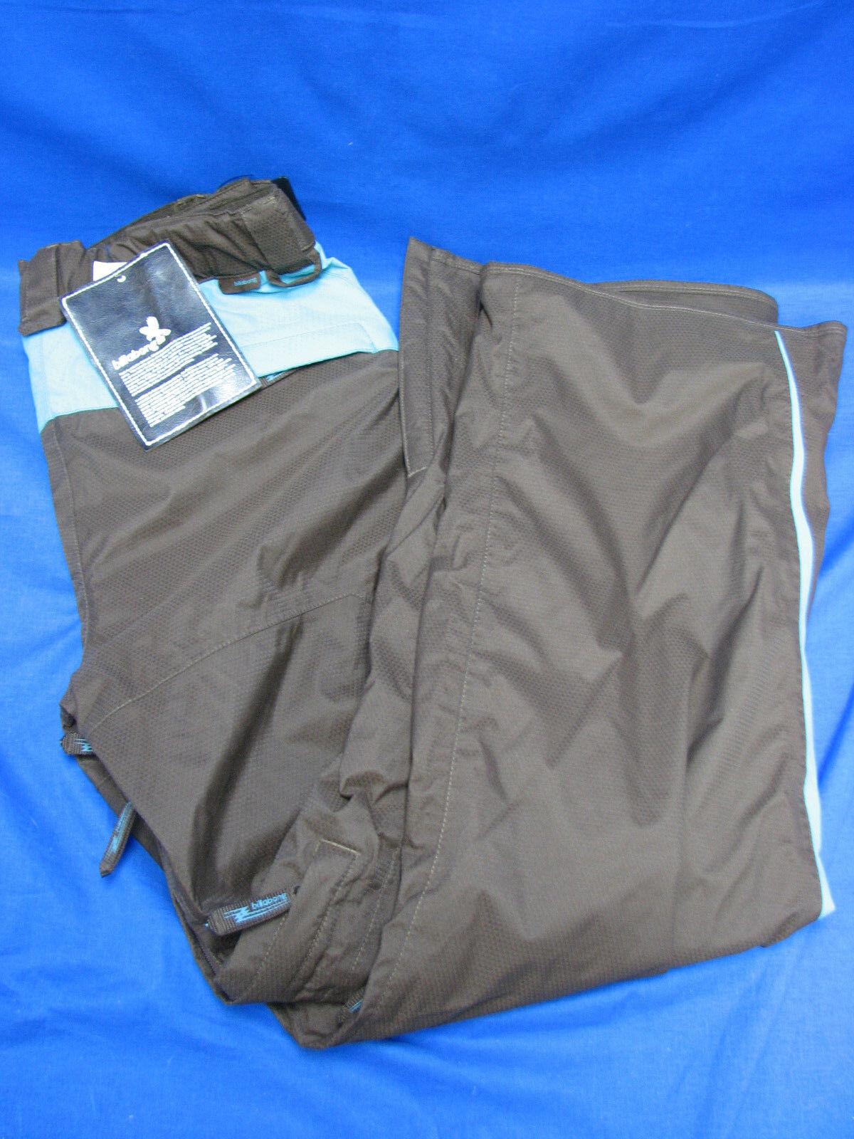 Billabong Women's Snowboard Pants Brown Turquoise Large MSRP