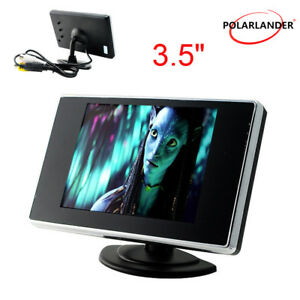 3-5-034-LCD-TFT-Ecran-Voiture-Moniteur-DVD-DVR-pour-Voiture-Rearview-Inverse-Camera