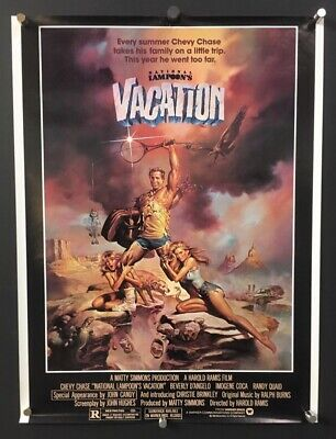 Vacation Original Soundtrack Poster - Chevy Chase 1983 ...