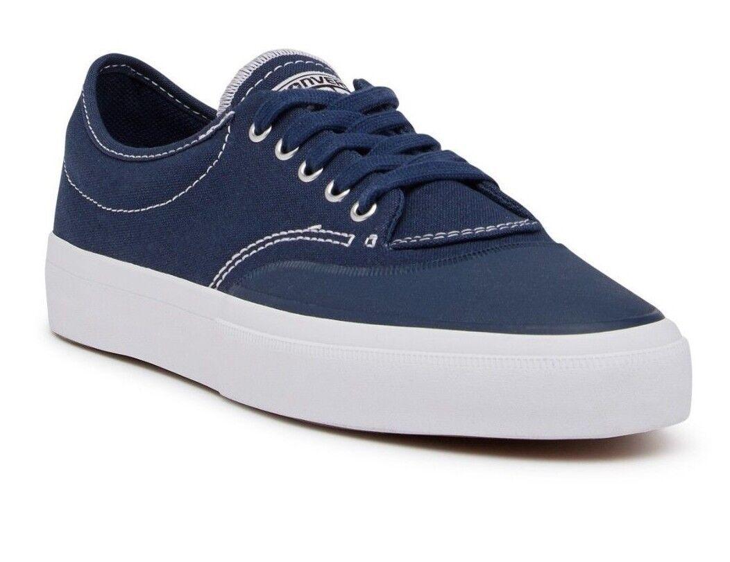 Para Hombre Converse tamaños Lona Oxford Tenis carmesí, tamaños Converse de 153464 C 812 Azul Marino/Blanco/Natu 2fa60c