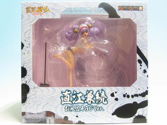 Hyakka Ryoran Kanetsugu Naoe Samurai flickor 1  7 PVC Amiamia Zero 4902273017319