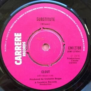 Clout-Substitute-When-Will-You-Be-Mine-Carrere-Records-EMI-2788-Ex