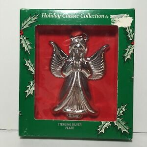 Praying-Angel-Christmas-Ornament-VINTAGE-Classic-Collection-by-Duchin