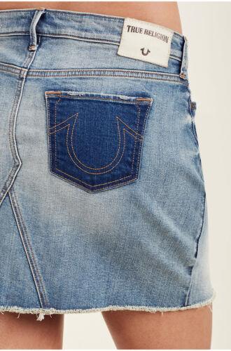 Skirt Ojai Religion Mini True Off Rise Cut Denim Women's Jean Mid Fields In PzwFz