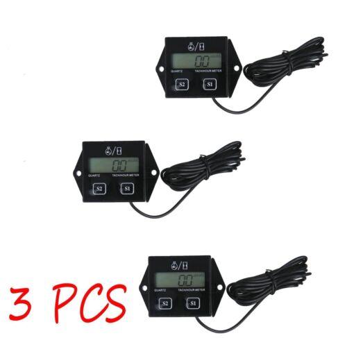 LOT 20 Digital Tach Hour Meter Tachometer Gauge For Dirt bike ATV UTV Gas Engine
