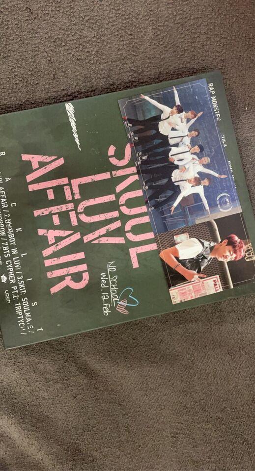 BTS, kpop: Skool luv affair, andet