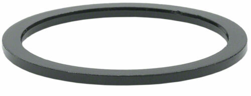 "Aluminium-Wheels Manufacturing 1.5 mm 1-1//8/"" Headset Spacer Noir Bag//5"