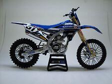 JGR YAMAHA JUSTIN BARCIA #51 model New Ray Toys Dirt Bike motocross 1:12 Scale