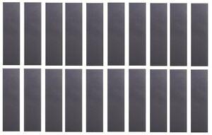 "Cal 7 Blank Skateboard Deck Grip Tape 33/"" x 9/"" 20 PACK Set"
