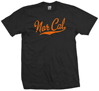 Nor Cal Script & Tail T-shirt - California Republic Sports - All Sizes & Colors