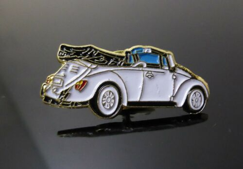 BRAND NEW VW COUPE WHITE CAR PIN BADGE