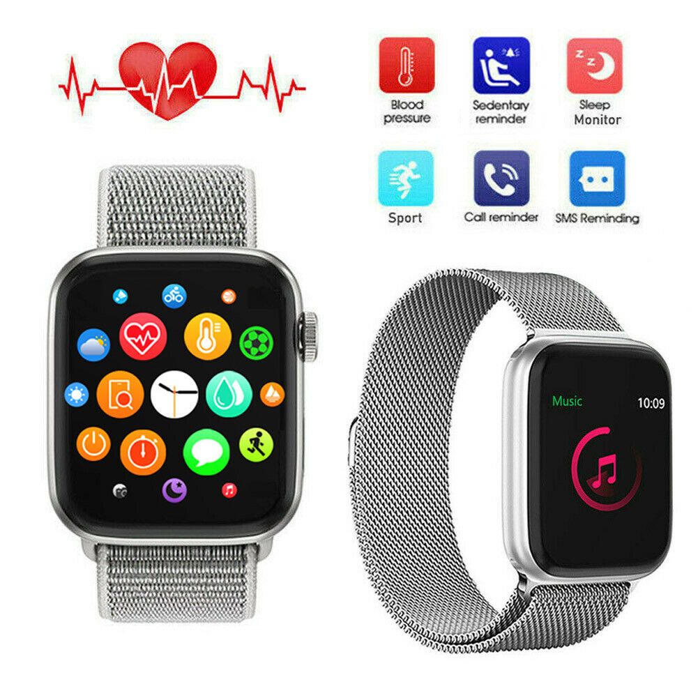 Smart Watch Heart Rate Fitness Tracker Sport for LG iPhone 8