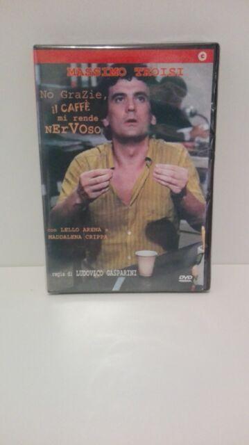 NO GRAZIE IL CAFFE MI RENDE NERVOSO DVD EX NOLEGGIO USATO GARANTITO TROISI