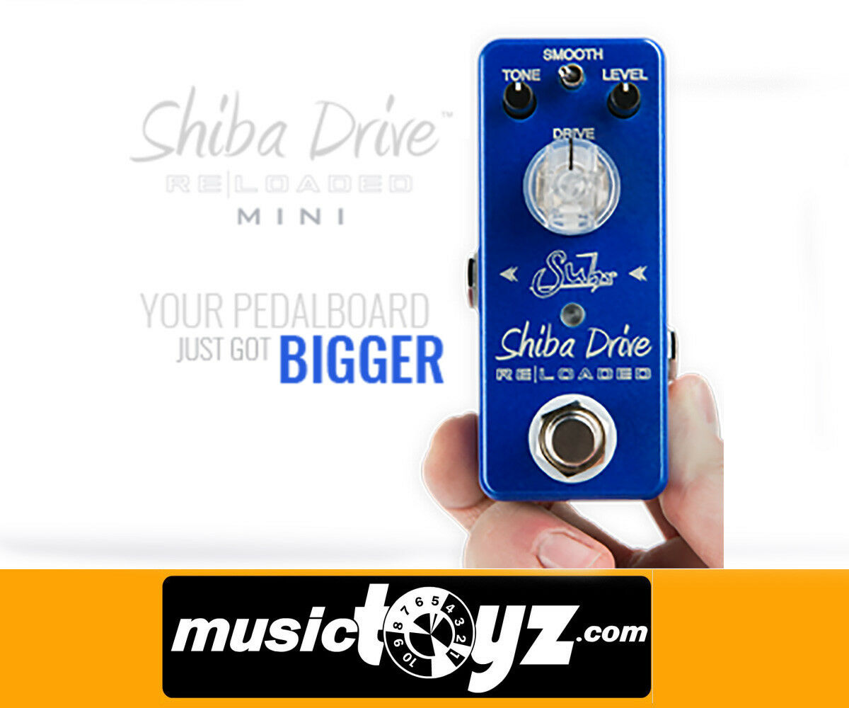 Suhr Mini Shiba Reloaded Overdrive Guitar Pedal - NEW Auth - Free Gift
