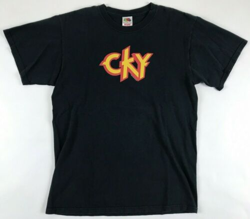 Vintage 2006 CKY T-Shirt Medium M Hanes Camp Kill