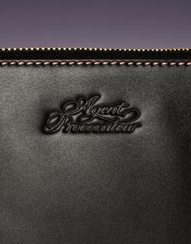 Bnwt Provocateur Medium Wallet Leather Purse Agent Black xvRpzqxw