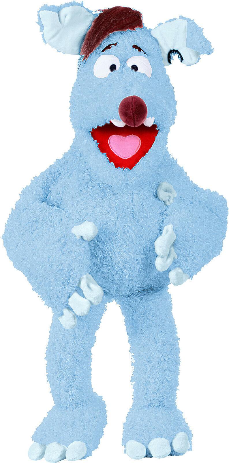 mas barato Living Living Living Puppets WG100 Woozel Marioneta   Títere en Azul Felpa 45cm Klappmaul  lo último