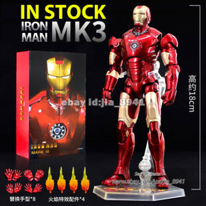 ZD-TOYS-Iron-Man000-MK-3-Mark-III-7-Action-Figure-Marvel-MCU-Model-Toy-Genuine