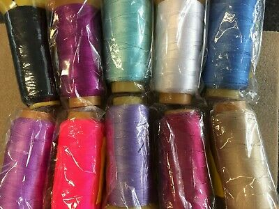 0.6mm Silk Thread X 500 Metres On Bobbin