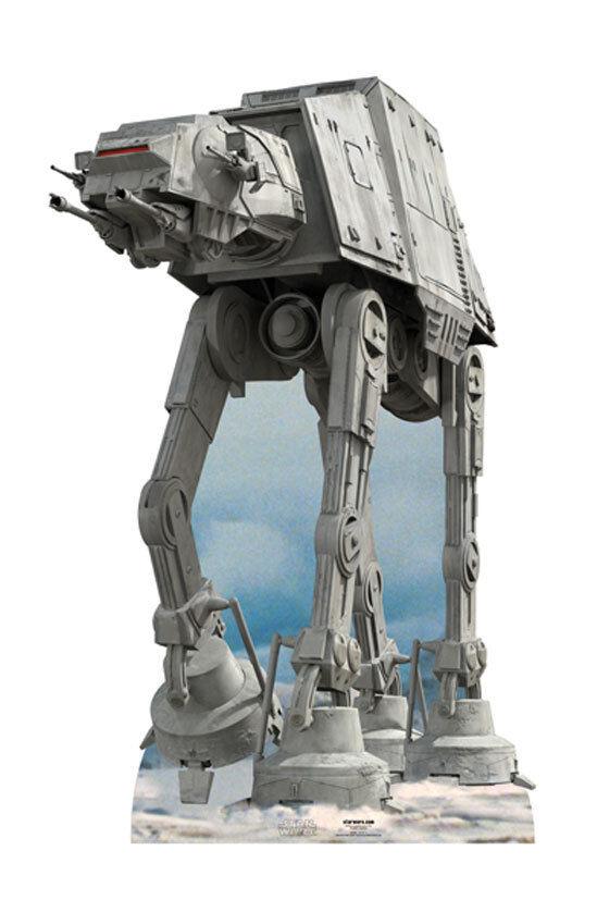 Star WARS AT-AT grand carton découpe présentoir standup Walker véhicule Hoth Battle