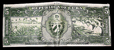 NEW CUBAN PESOS LEATHER WALLET! Cuba Cigars green black men's bifold cartera