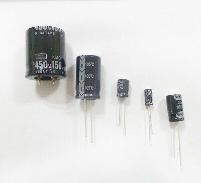 5Pcs 4700uF 50V 105C Radial Electrolytic Capacitor 22x40mm NEW GOOD