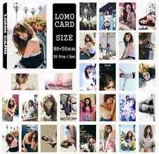 30pcs /set Cute Kpop Girls' Generation Tiffany Photo Picture Poster Lomo Cards