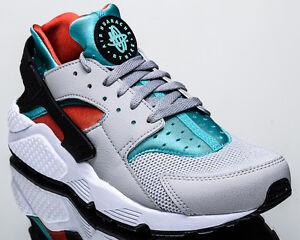 Nike Air Huarache men lifestyle casual sneakers NEW flat silver 318429-023