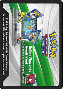 Pokemon trading card game online free codes 2015