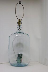 Vintage XL Handmade Terrarium Table Lamp Fairy Garden | eBay
